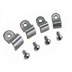 Single Stainless Line Clamps 1//4/""