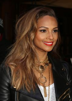 Alesha Dixon, Red Carpet arrivals for Britain's Got Talent at the Dominion Theatre, 11 February 2015