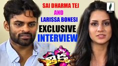 Sai Dharam Tej and Larissa Bonesi  Interview About Thikka Movie || Venus...