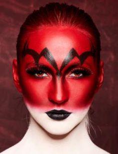Halloween Devil Make Up Ideas Ideas 2012 Demon Makeup, Scary Makeup, Sfx Makeup, Costume Makeup, Halloween Face Makeup, Demon Costume, Extreme Makeup, Clown Makeup, Halloween Nails