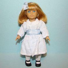 C2008 American Girl Nellie Doll Mini Miniature Retired 6.5 Inch  #AmericanGirl