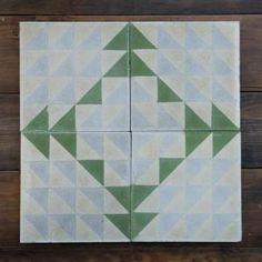 Green Majadas Tile