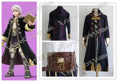 Fire Emblem Robin Cosplay Costume Tailor made