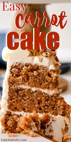 This turned out incredible Moist and it was a really easy carrot cake recipe too carrotcake cakerecipe homemade Low Fat Carrot Cake, Low Fat Cake, Homemade Carrot Cake, Healthy Carrot Cakes, Homemade Cake Recipes, Pound Cake Recipes, Baking Recipes, Low Fat Pound Cake Recipe, Food Cakes