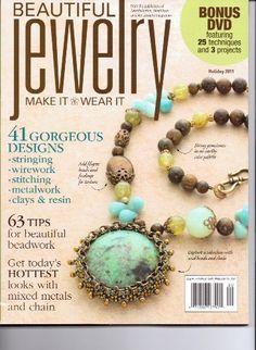 Beautiful JEWELRY Magazine. Make it - Wear It. Bonus DVD.... https://www.amazon.com/dp/B007G031QC/ref=cm_sw_r_pi_dp_x_GkyUybQV0MFC3