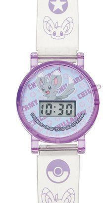 """Pokemon BW2 Black and White 2 Digital Wrist Watch Full Smile Ver. - Minccino by Takara Tomy Arts. $9.99. Time and date can be changed.. Has two buttons. Battery is included.. Made by Takara Tomy Arts.. Wrist watch size: 8"""" inch length.. Time and date can be changed. Has two buttons. Battery is included. Wrist watch size: 8"""" inch length. Made by Takara Tomy Arts."""