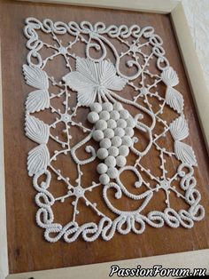 Statement Flower Necklace, Crocheted Jewelry with Pearls. Wedding, Prom jewelry Statement Flower Necklace, Crocheted Jewelry with Pearls. Form Crochet, Crochet Motif, Irish Crochet, Crochet Doilies, Crochet Lace, Crochet Stitches, Crochet Table Runner, Crochet Tablecloth, Crochet Butterfly