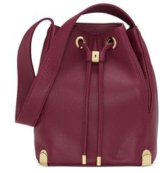 Just the right size to take any fashionista from day-to-night with ease: Vince Camuto drawstring bag. #HelpMeClinton