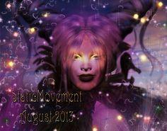 Sci-Fi-Fantasy-Horror cover art  created  by Lee Kuruganti for defunct ezine StaticMovement.