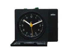 BRAUN Alarm Clock AB312sl | Dietrich Lubs 1985 | W.85 D.20 H.70mm
