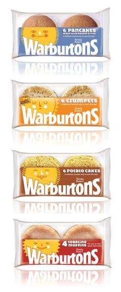 WARBURTONS - Cute cake packaging