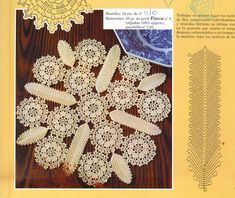 Patterns and motifs: Crocheted motif no. 1008