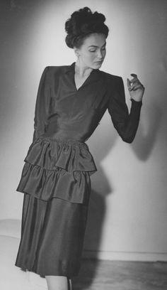 1945 tiered dress
