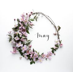 It's finally May. I'm all about MAY Flowers 🌸 🌺🌼The more flowers the better just got to make sure I take my allergy medicine. Seasons Months, Days And Months, Months In A Year, 12 Months, Hello May, Julia Smith, Month Flowers, Pics Art, New Month