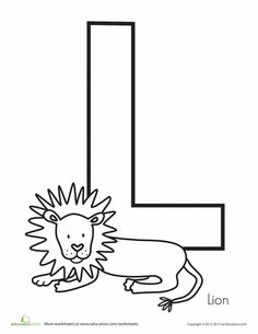 free letter l worksheets printables for kids alphabet activities pinterest worksheets. Black Bedroom Furniture Sets. Home Design Ideas