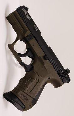 WALTHER ARMS INC - P22 MILITARY CA 3.42IN 22 LR HANDGUN PISTOL FIREARM O.D. GREEN (ODG) 10+1RD