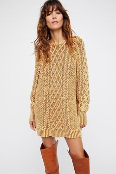 On A Boat Sweater Dress | Free People