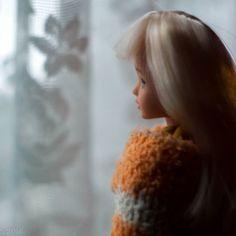 Хи у окна  #куклы #Хильда #dolls