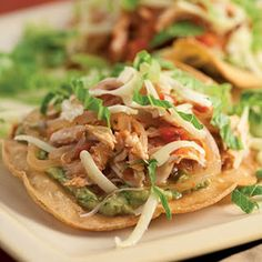 Turkey Tostadas #KrogerHoliday