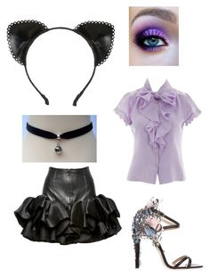 """""""Pretty kitty"""" by victoria-murray-1 on Polyvore featuring Atsuko Kudo and Ballin"""