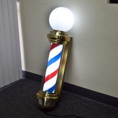 Salon Skins Decorative Barbicide Jar Wrap Barber Pole