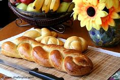 Swiss Zopf Bread. To all Hobby Baker...you have to try this, everybody will love it, trust me! .