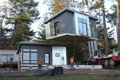Dabob Pod - from Green Pod Development - S2 Ep 5 tiny house hunting, on FYI