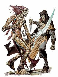 Power Score: Dungeons & Dragons - A Comprehensive Look at the Githyanki Fantasy Races, Fantasy Rpg, Medieval Fantasy, Dungeons And Dragons, Character Inspiration, Character Art, Wayne Reynolds, Mind Flayer, Dnd Monsters