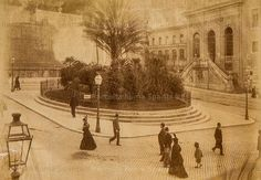 Foto storiche di Roma - Largo Magnanapoli, resti delle Mura Serviane Anno: 1874 Romans, Old Photos, Italy, Vintage, Architecture, Antiques, Painting, Memories, Twitter