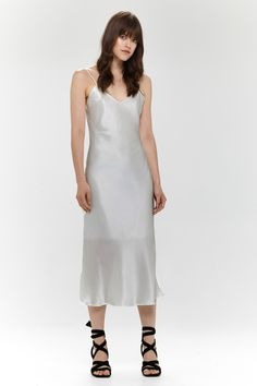 Demi Dress Silver - Hansen & Gretel