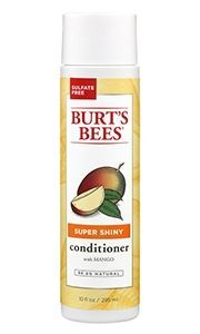 If you get back breakouts, after rinsing out your hair conditioner in the shower, try putting your hair up in a clip (if it's long) and then use your shower gel to wash your back. Or opt for a natural formula! Burt's Bees Mango Conditioner $8