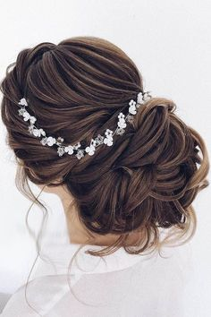 Greek Wedding Hairstyles For The Divine Brides ❤ See more: http://www.weddingforward.com/greek-wedding-hairstyles/ #weddingforward #bride #bridal #wedding