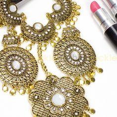 Jijel Gold Fashion Chunky Necklace