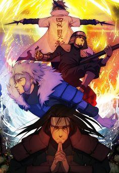 The Four Hokages (Naruto)