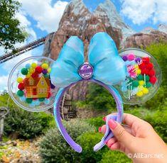 Disney Ears Headband, Diy Disney Ears, Disney Minnie Mouse Ears, Disney Headbands, Disney Up, Ear Headbands, Disney Trips, Disney Hair, Disney Makeup
