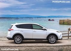Toyota RAV4 Hybrid [EU] 2016 poster, #poster, #mousepad, #tshirt, #printcarposter