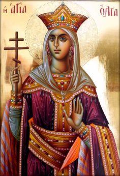 Αγ.Ολγα Η Ισαποστολος (μετονομασθεισα Ελενη) Η Βασιλισσα (; - 969)_11 Ιουλίου of Kiev
