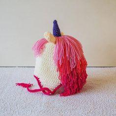 Home Page - Cris Crochet Shop Crochet Unicorn Hat, Crochet Hats, Crochet Character Hats, Unicorn Hair, Hat Making, Be My Valentine, Enchanted, Crochet Patterns, Creatures