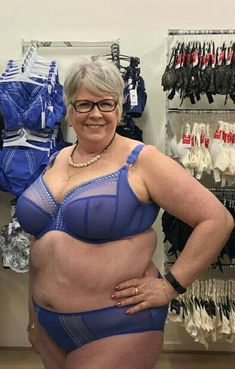 Beautiful curvy body of mature wife