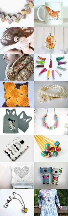 Handmade with love and integrity by BoulotDodo on Etsy--Pinned with TreasuryPin.com
