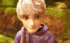 An amazing little animated gif with Hiccup, Jack Frost, Rapunzel, and Merida.