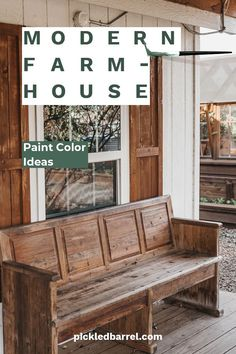 Grab your paint brushes because after reading this article, you will know for sure which paint colors you want to have in your modern farmhouse. Learn what is in and what's not. Hot trends for interior paint. Keep reading to learn more. Modern Farmhouse Bedroom, Farmhouse Interior, Farmhouse Decor, Farmhouse Lighting, Farmhouse Style, French Farmhouse, Rustic Style, French Country, Diy Home Decor Projects
