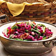 German-Style Cabbage and Beans Recipe