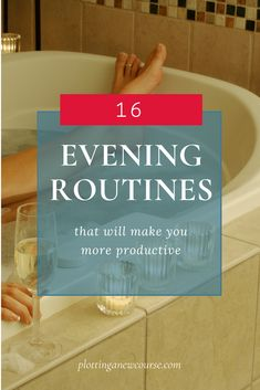 An evening routine, done right, is far more than a bubble bath and brushing your teeth. A great routine should address 3 key areas if it's going to get you ready for a good night's sleep and a fabulous tomorrow.