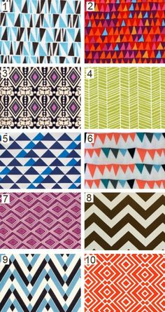 geometric.  Originally pinned by Stephanie Pearson onto patterns.
