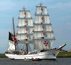 NRP Sagres III, Portuguese Navy Scholar Ship Ship Names, Wooden Ship, Armada, Tall Ships, Lighthouses, Portuguese, Sailing Ships, Sailing Yachts, Dibujo