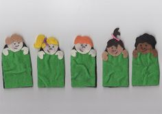 5 in the Bed by MissJanesCircle on Etsy, $8.00 #ECE #EarlyChildhoodEducation #CircleTime