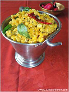 Navarathri Sundal Recipes   Gram Dhal Sundal