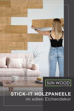 Plank Walls, Ikea Hack, Building Materials, Fixer Upper, Home Crafts, Decoration, Sweet Home, New Homes, Lounge