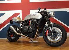 Triumph Trophy 900 Cafe Racer - Triumph Rouen #motorcycles #caferacer #motos | caferacerpasion.com